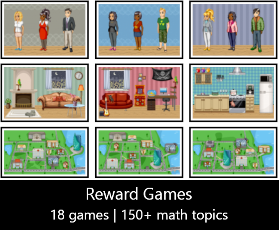 math reward games